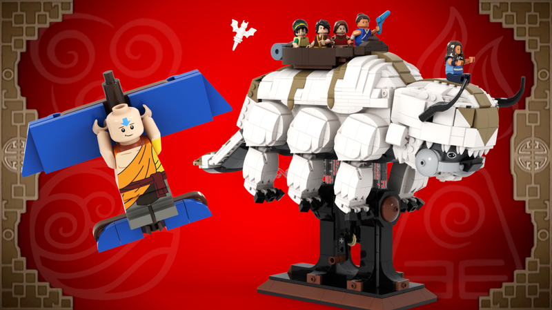 LEGo Ideas Last Airbender