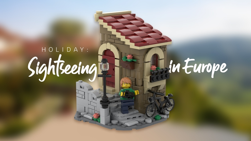LEGo Ideas Sightseeing Europe