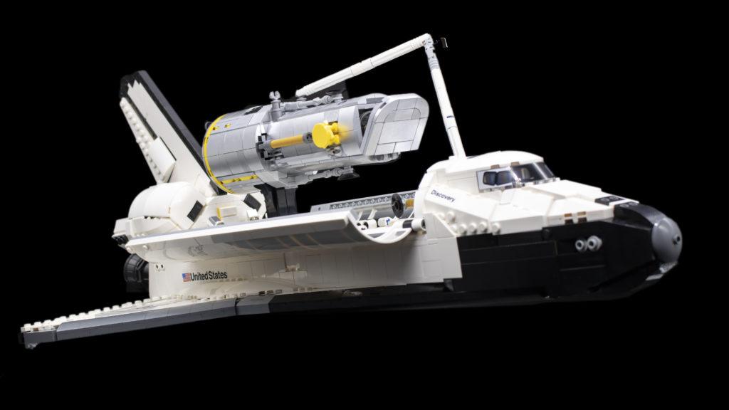 Lego Creator Expert 10283 NASA Space Shuttle Discovery 56