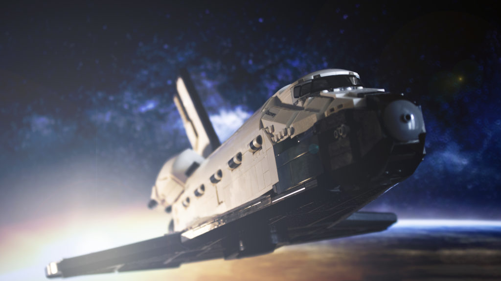 Lego မှ Creator Expert 10283 NASA အာကာသလွန်းပျံယာဉ် Discovery 10 featured