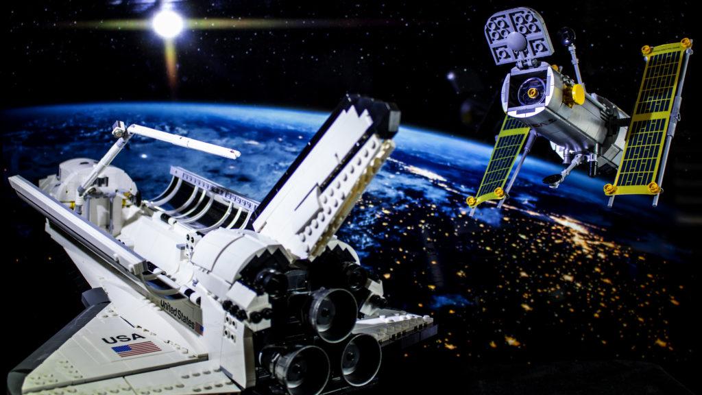 Lego မှ Creator Expert 10283 NASA အာကာသလွန်းပျံယာဉ် Discovery 9 featured