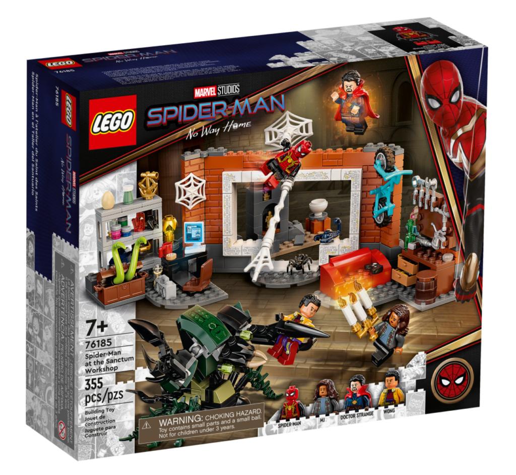 Lego Marvel 76185 Spider Man at the Sanctum Workshop