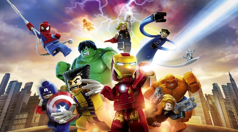 Lego Marvel Super Heroes Cover Featured