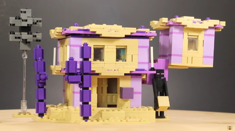 Lego Minecraft End City Moc Featured