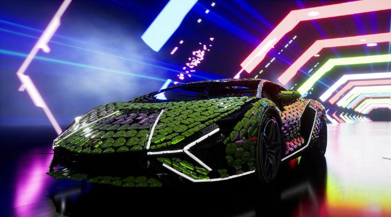 ဘဝအရွယ်အစား Lamborghini sian ကိုပြသခဲ့သည်