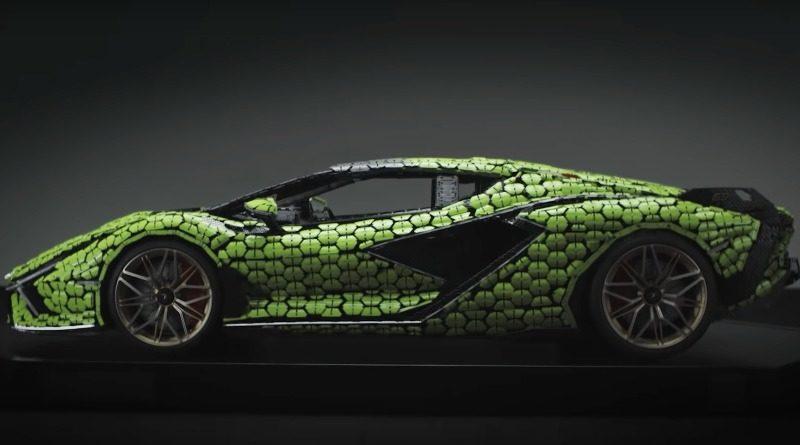 Lifesize Lamborghini Sian