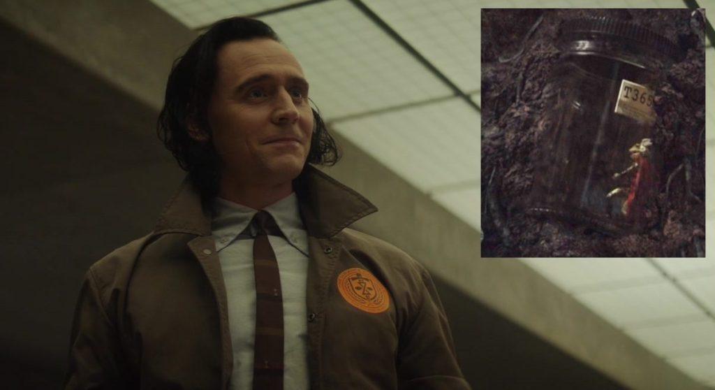 Loki TVA outfit Throg