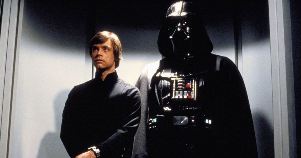 Luke Skywalker Darth Vader Height Comparison