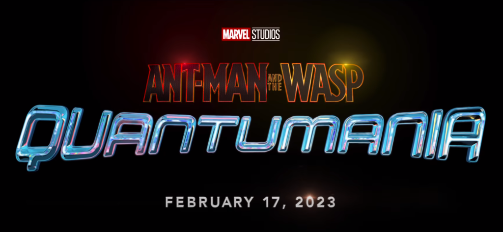 Marvel Ant Man And The Wasp Quantumania Logo New