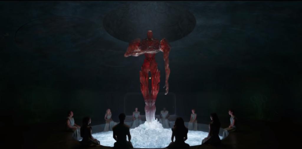 Marvel Eternals Arishem Statue