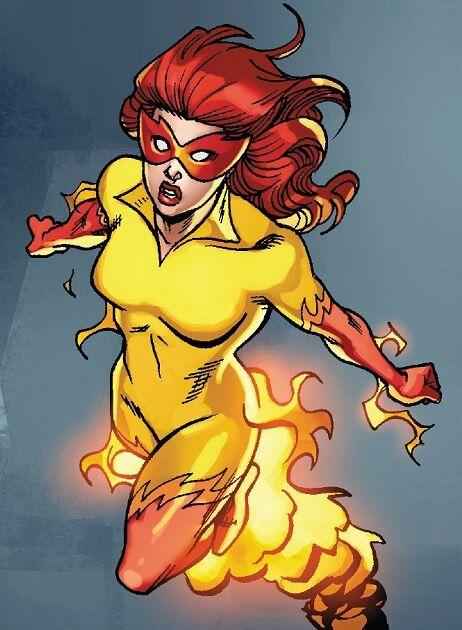 Marvel Fire Star new