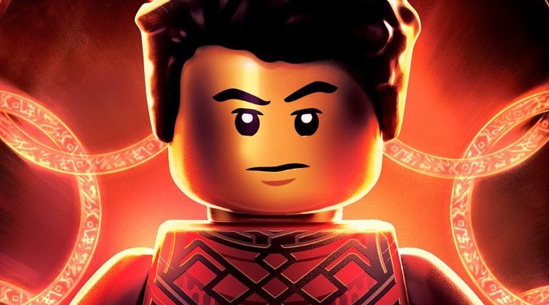 Marvel Shang Chi and the Legend of The Ten Rings poster LEGO featured