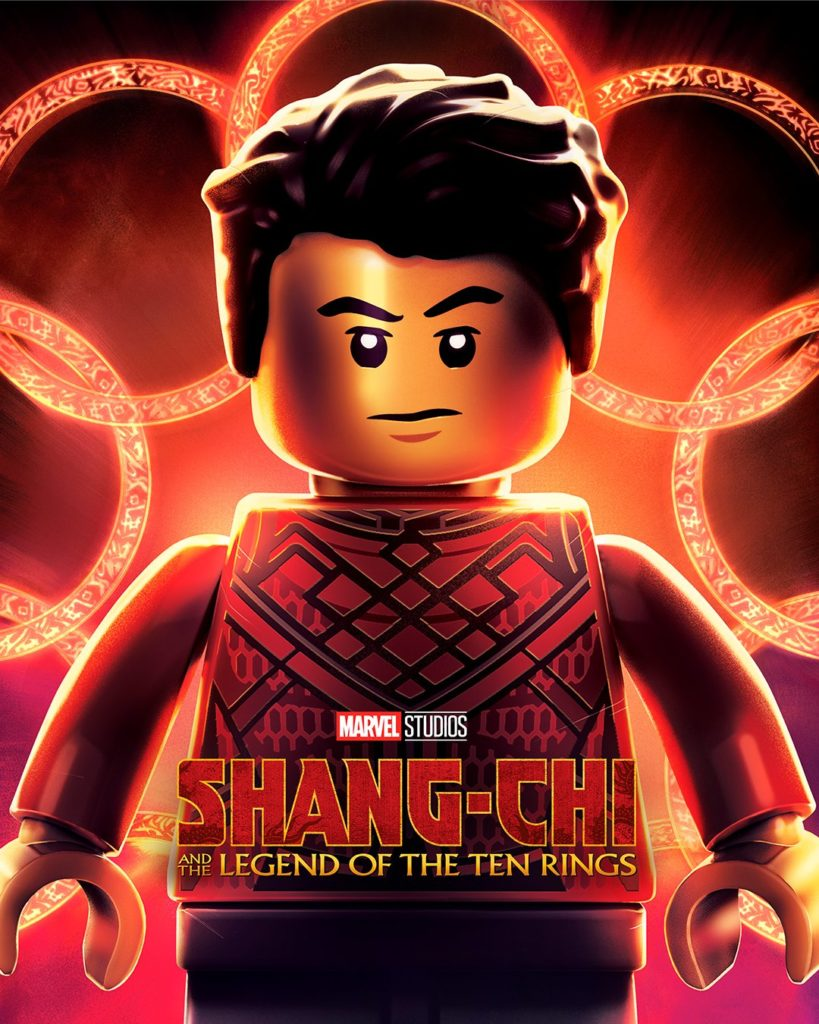 Marvel Shang Chi and the Legend of The Ten Rings poster LEGO