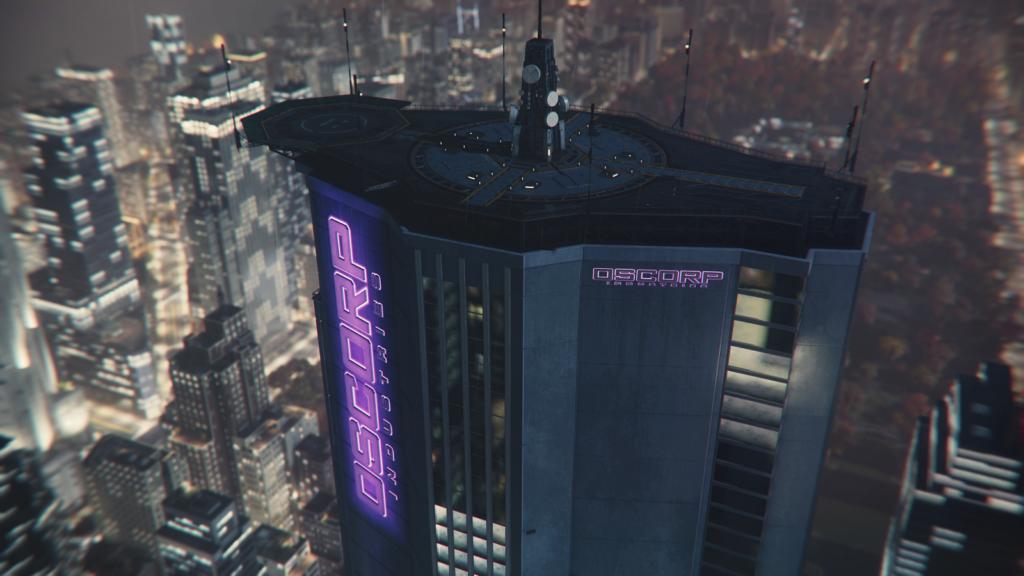 Marvel Spider Man Oscorp Playstation