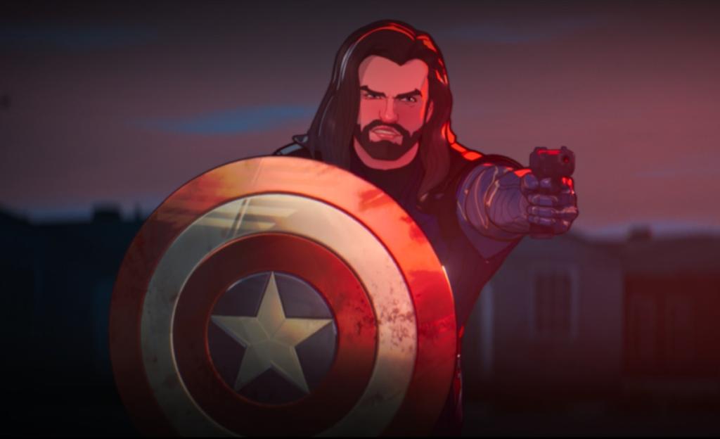 Marvel Zombies Winter Soldier Captain America ဒိုင်းလွှားဆိုရင်ဘာဖြစ်မလဲ