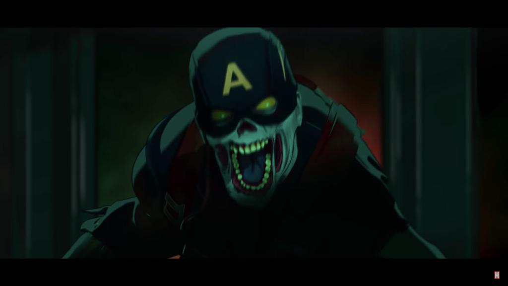 Marvel What If... Captain America Zombie
