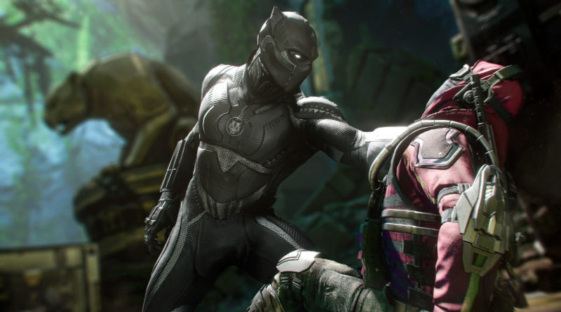 Marvels Avengers War for Wakanda Black Panther featured