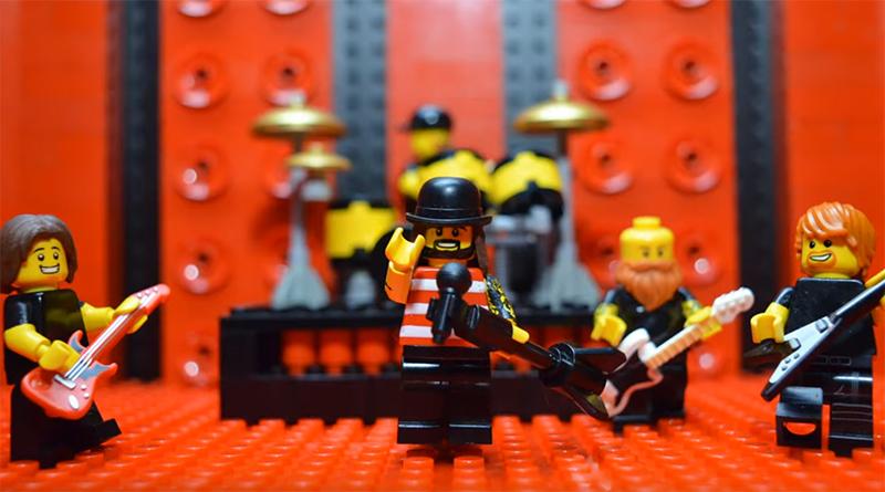 Massive Wagons LEGO music video