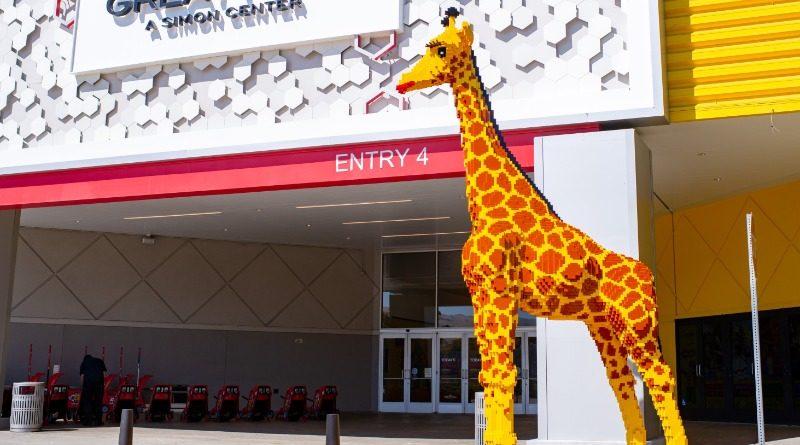 Millie LEGO Giraffe
