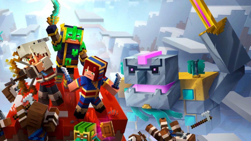 Minecraft Dungeons Tempest Golem
