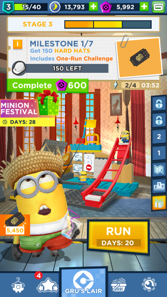 MinionRush LEGO event 3 stage3 1