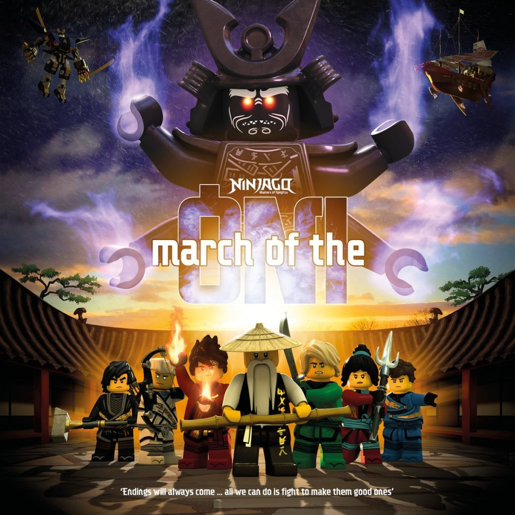NINJAGO March Of The Oni Poster 1024x1024