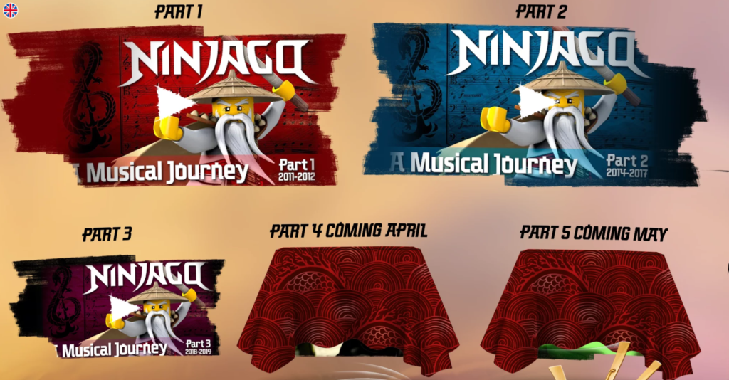 Ninjago A Musical Journey Possible Fifth Entry
