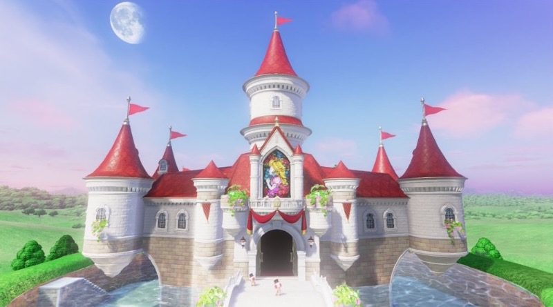 Nintendo Super Mario Peachs Castle featured