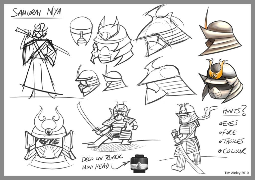 Nya Samurai 1 Tim Ainley