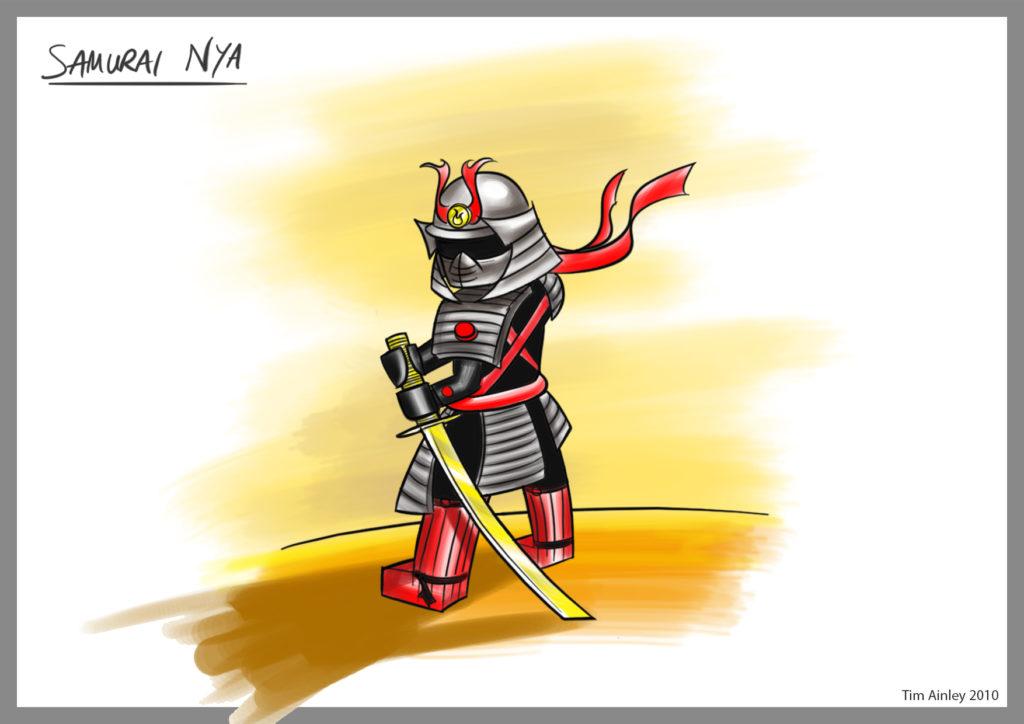 Nya Samurai 2 Tim Ainley
