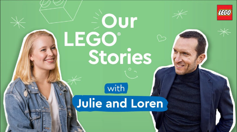 Our LEGO Stories Podcast Teaser Featured 800x445