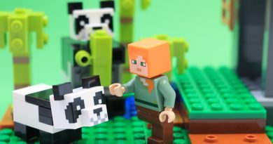 LEGO Minecraft 21158 The Panda Nursery