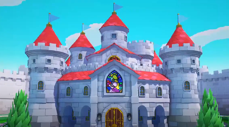 Paper Super Mario  The Origami King Peachs Castle