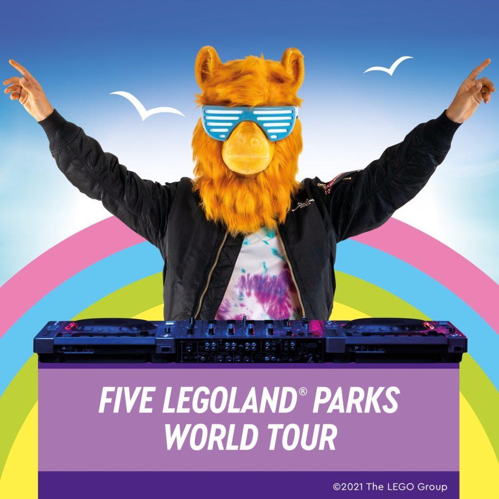 Party Llama LEGOLAND Tour