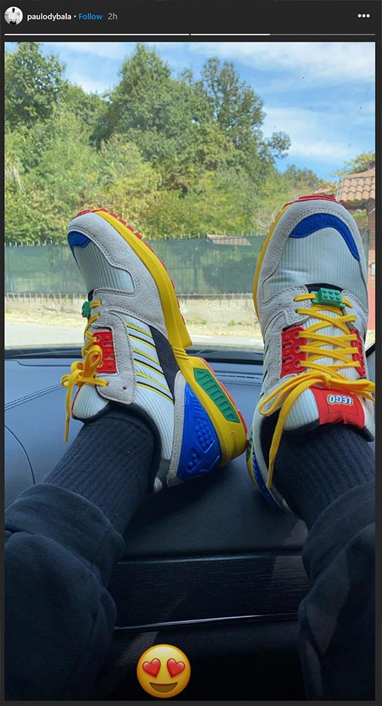Paulo Dybala LEGO Adidas Trainers
