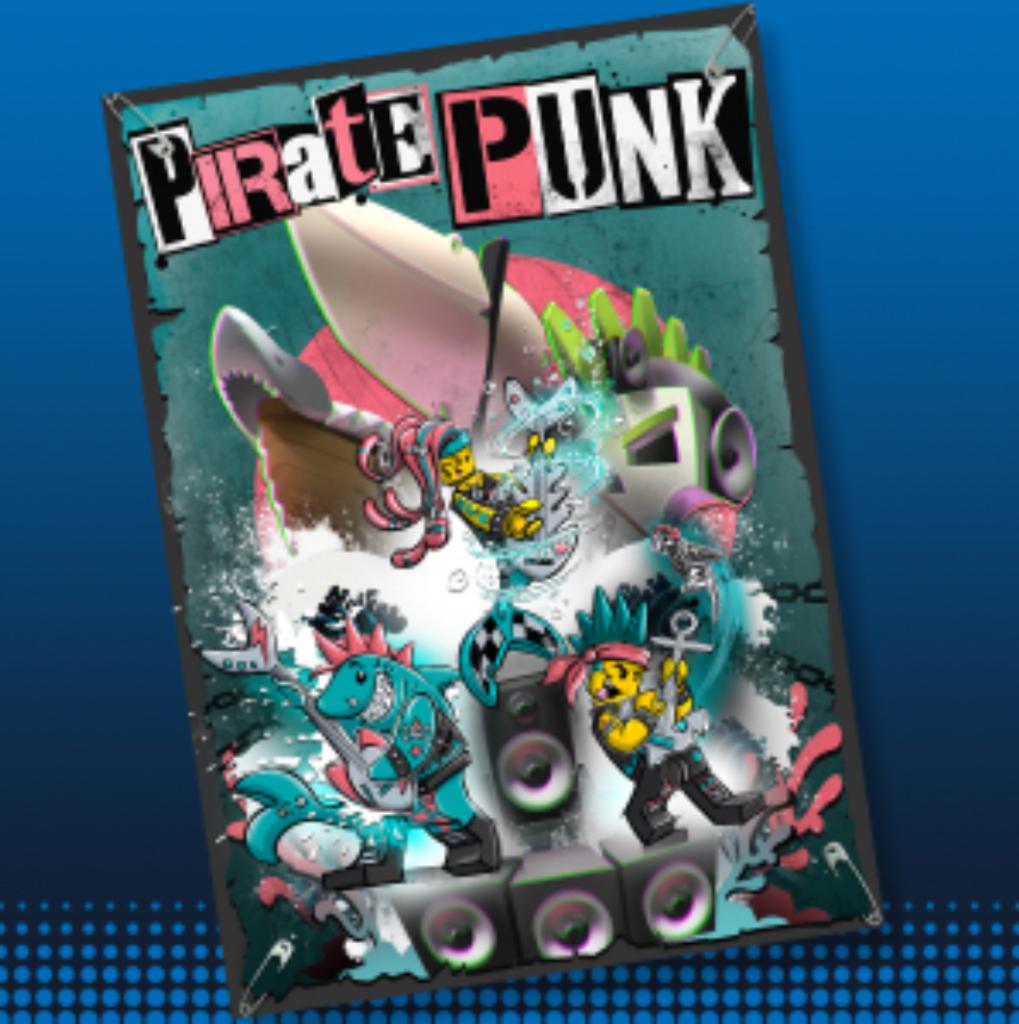 Pirate Punk Concept Art Vidiyo