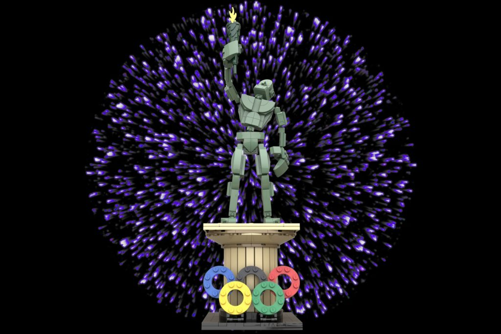 Posable Olympic Statue By  MrB
