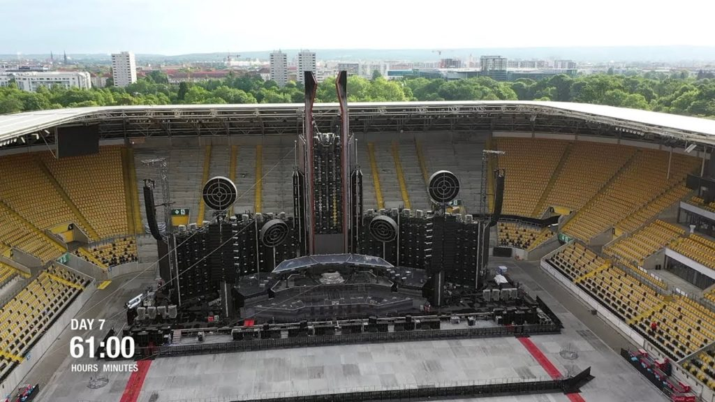 Rammstein Stadium Tour 2020 Stage