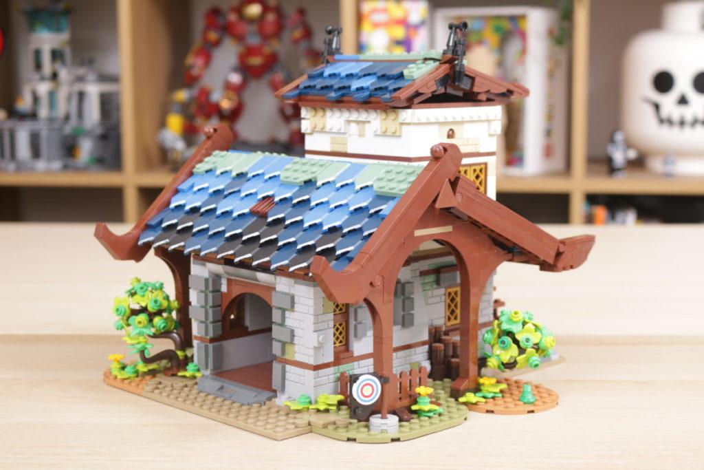 Rebuilding LEGO Ideas 21318 Medieval Blacksmith with Rebrickable 13