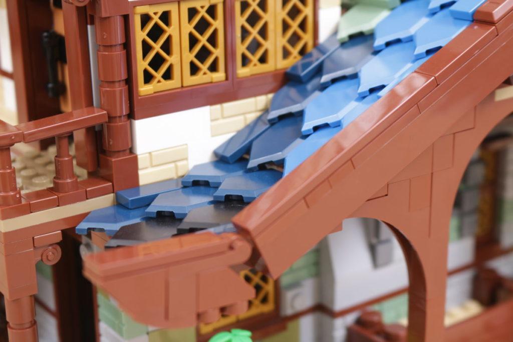 Rebuilding LEGO Ideas 21318 Medieval Blacksmith with Rebrickable 24