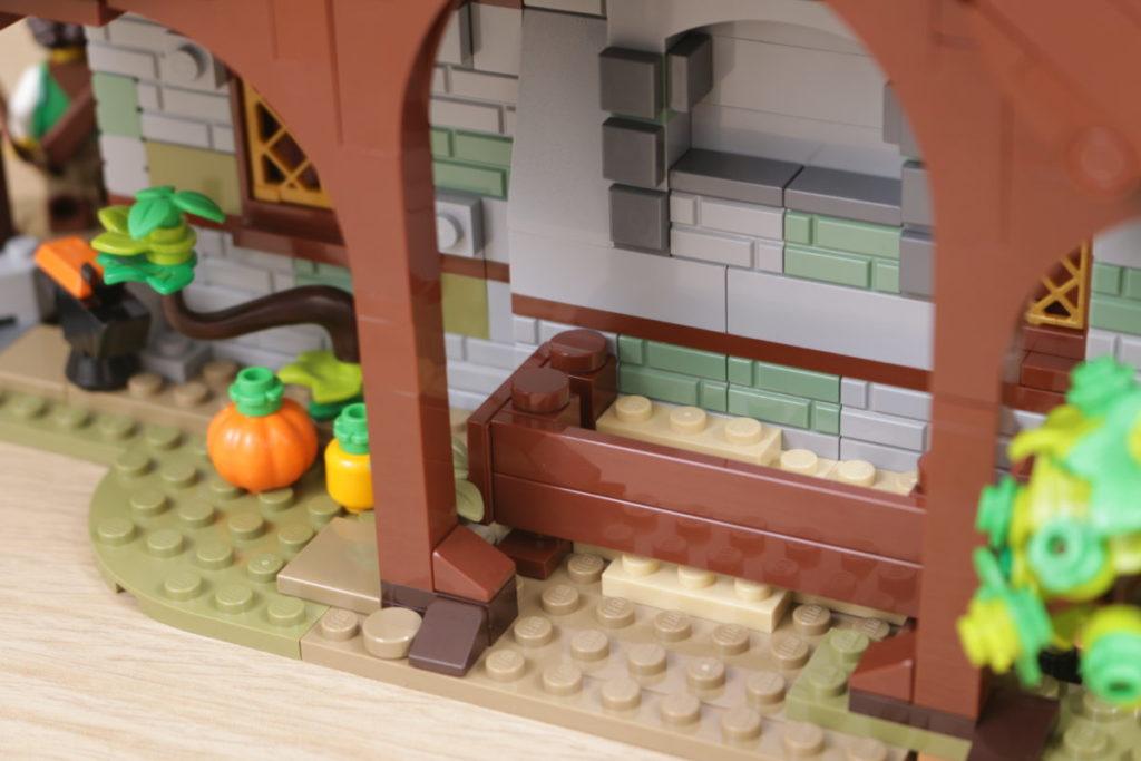 Rebuilding LEGO Ideas 21318 Medieval Blacksmith with Rebrickable 27