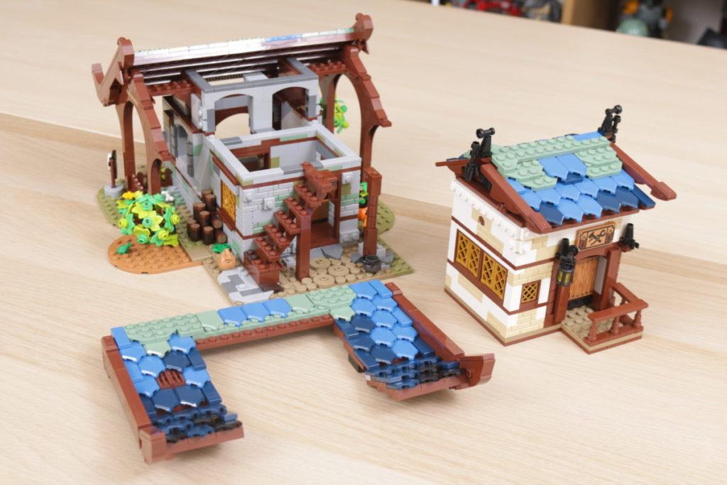Rebuilding LEGO Ideas 21318 Medieval Blacksmith with Rebrickable 34