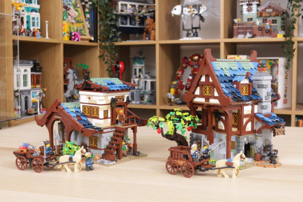Rebuilding LEGO Ideas 21318 Medieval Blacksmith with Rebrickable 38