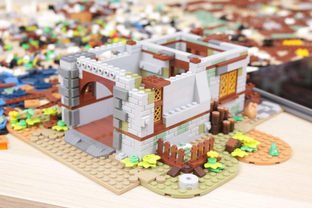 Rebuilding LEGO Ideas 21318 Medieval Blacksmith with Rebrickable 4