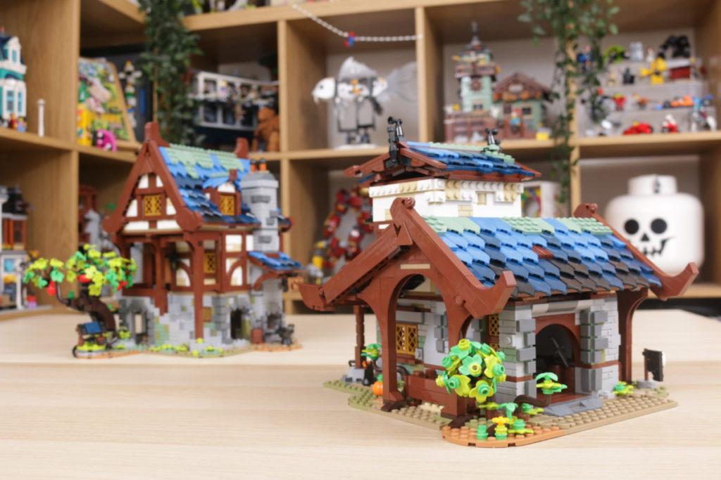 Rebuilding LEGO Ideas 21318 Medieval Blacksmith with Rebrickable 41