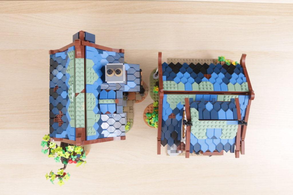Rebuilding LEGO Ideas 21318 Medieval Blacksmith with Rebrickable 46