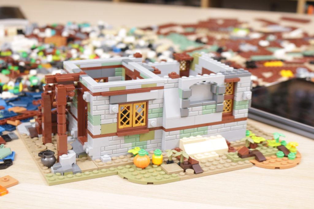 Rebuilding LEGO Ideas 21318 Medieval Blacksmith with Rebrickable 5