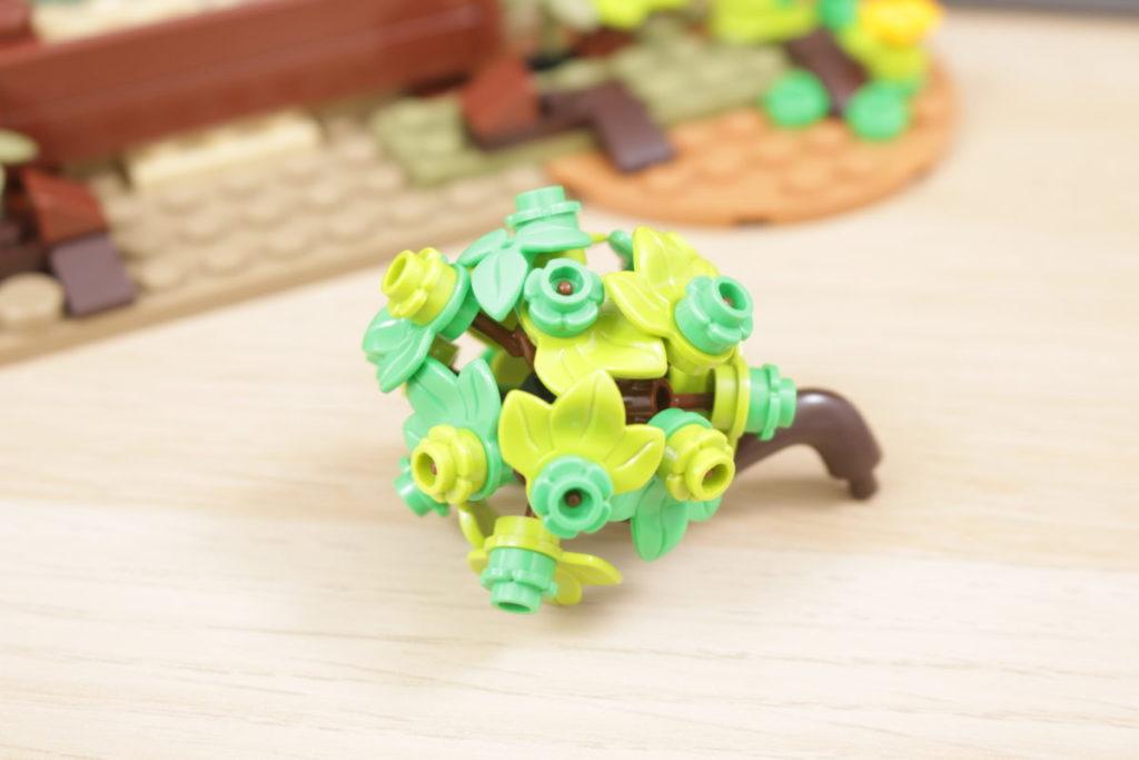 Rebuilding LEGO Ideas 21318 Medieval Blacksmith with Rebrickable 6
