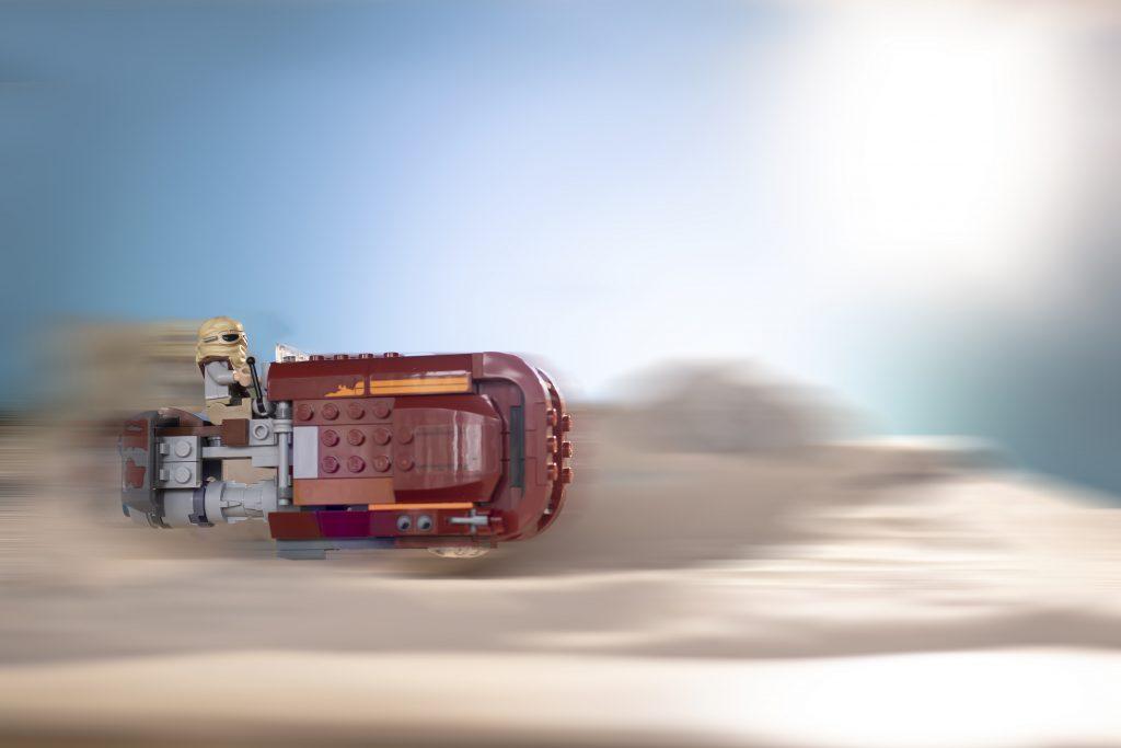 Rey Speeder Motion Blur 1024x683