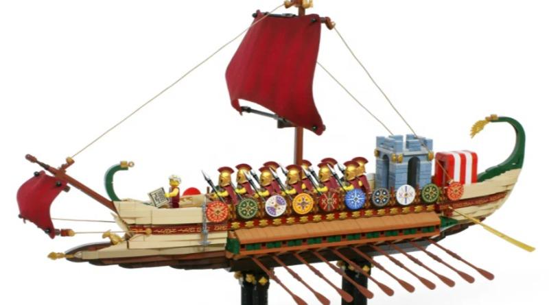 Roman Warship Cover